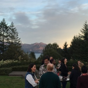Socializing at Skamania Lodge