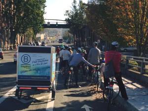 B Corp bike tour